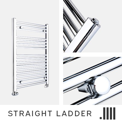 Straight Ladder Electric Towel Rail Range