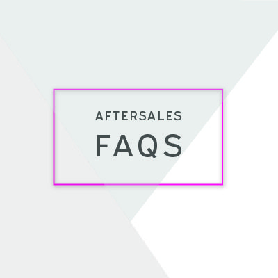 Aftersales FAQs