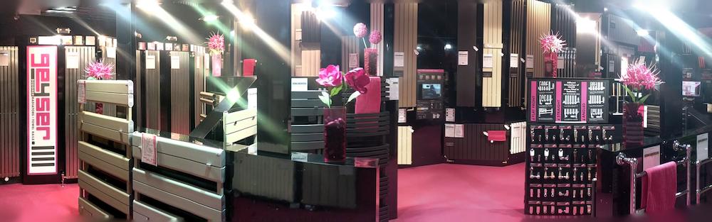 Visit our showroom Geyser Radiators