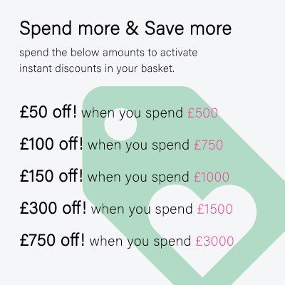 Spend & Save Discounts Geyser